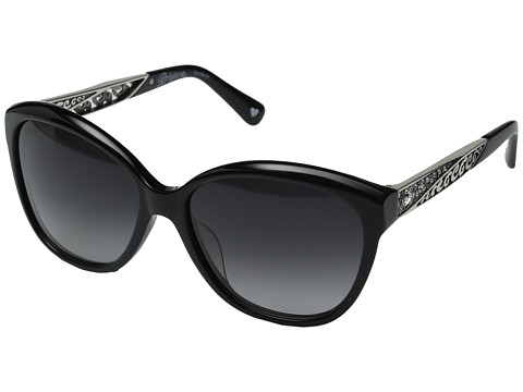 Brighton Ecstatic Heart Sunglasses - Black