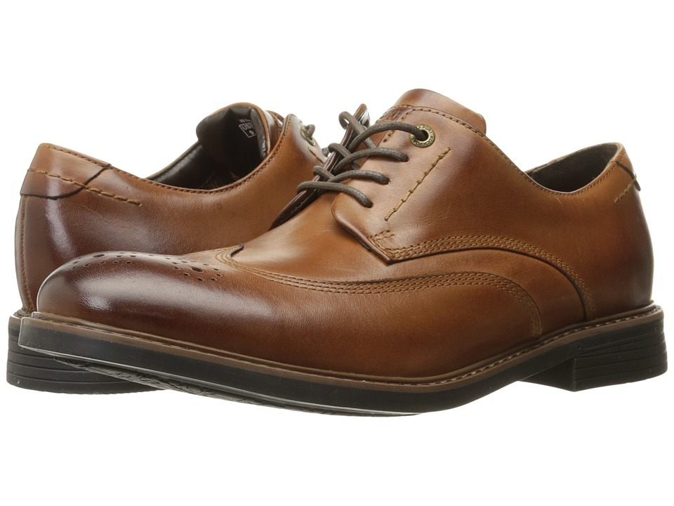 Rockport - Classic Break Wingtip (Dark Brown Leather) Mens Shoes