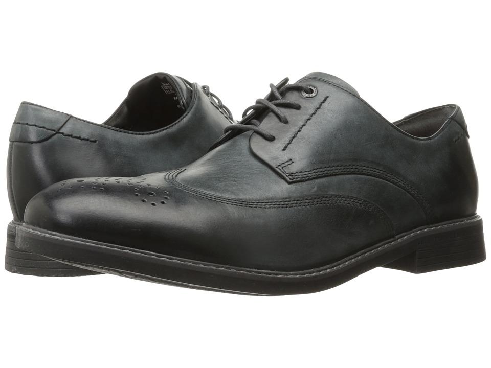 Rockport Classic Break Wingtip (Dark Shadow Leather) Men