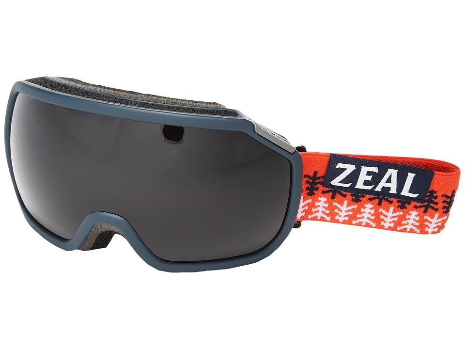 Zeal Optics Fargo (Conifer Red/Dark Grey Lens) Goggles