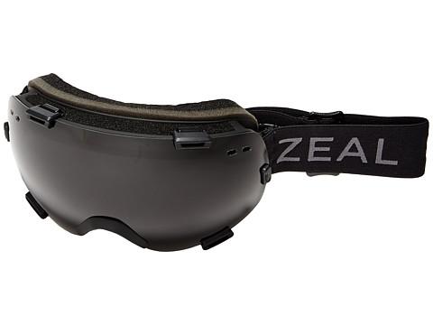 Zeal Optics Voyager - Dark Night/Dark Grey Polarized + Sky Blue Mirror Lens