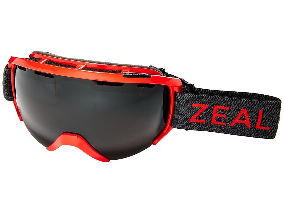 Zeal Optics Slate (Redstone/Polarized Dark Grey Lens) Goggles