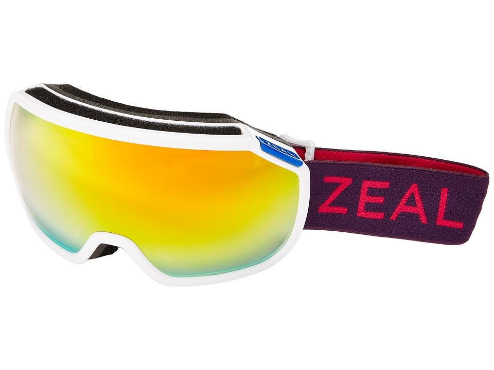 Zeal Optics Fargo (Razzmatazz/Phoenix Mirror Lens) Goggles
