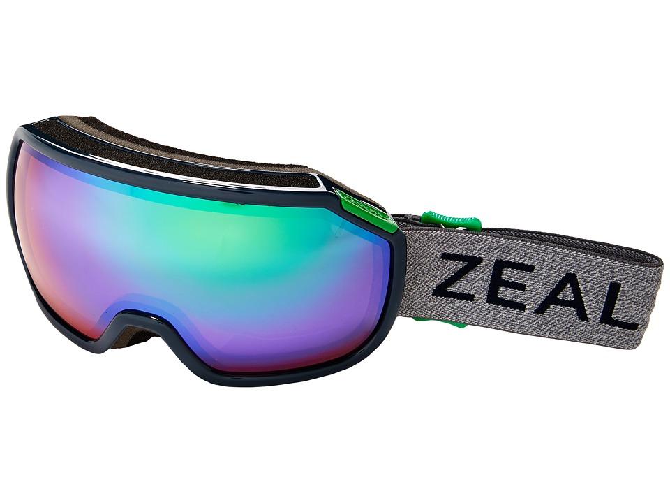 Zeal Optics Fargo (Northern Lights/Jade Mirror Lens) Goggles
