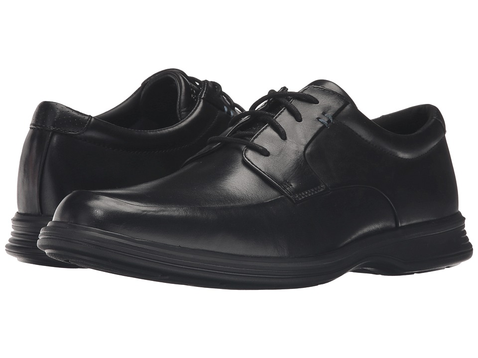 Rockport - Dressports 2+ Light Apron Toe (Black Leather) Mens Shoes