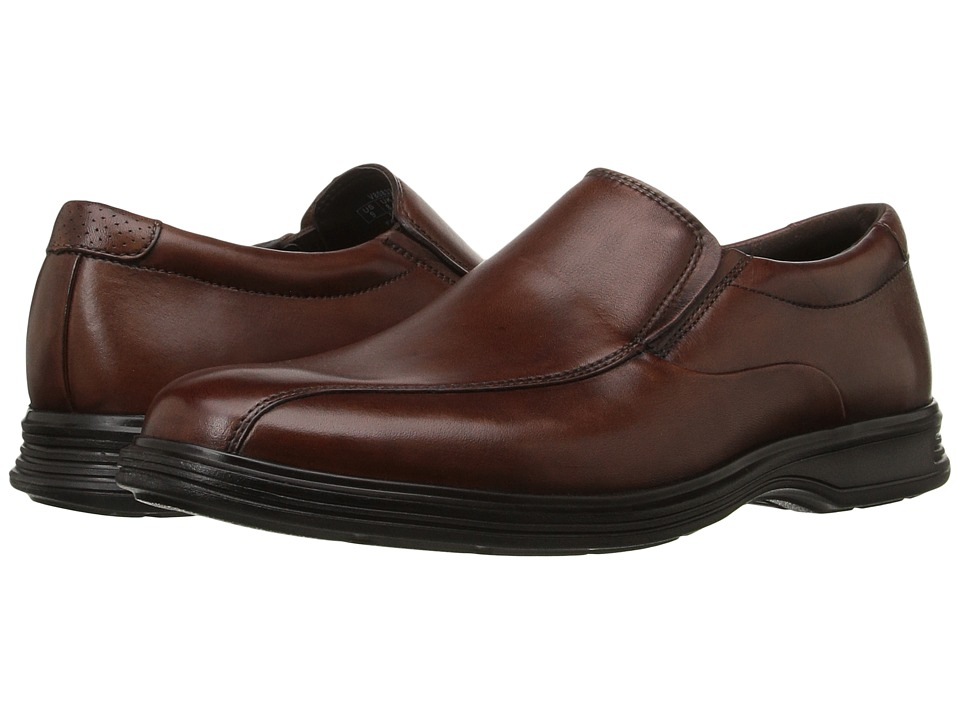 Rockport - Dressports 2+ Light Slip On (New Brown Leather) Mens Shoes