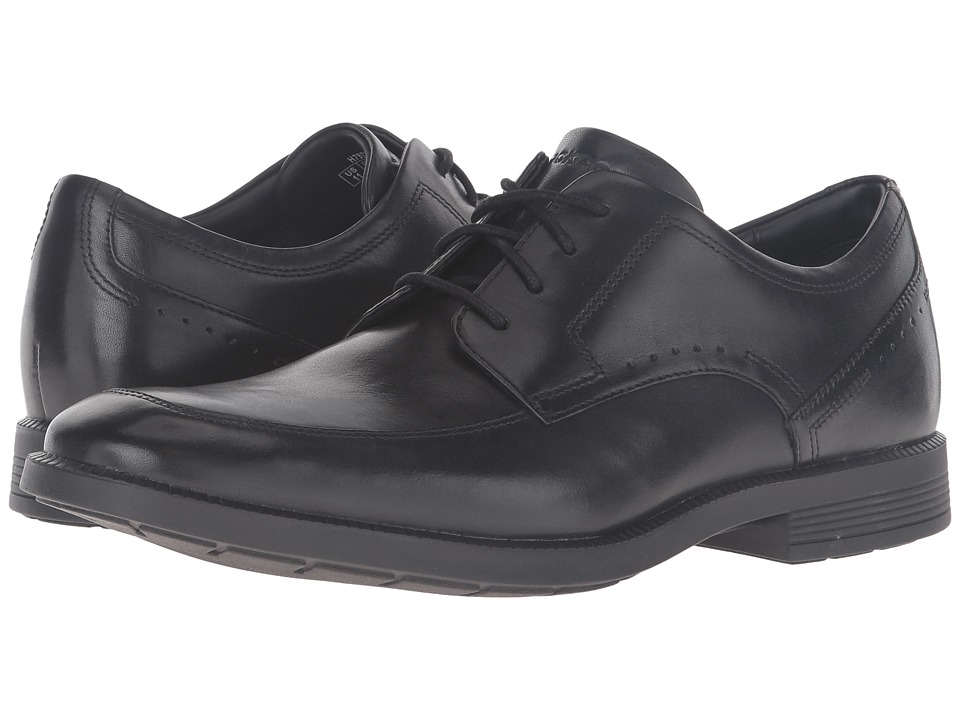 Rockport - Dressports Business Apron Toe (Black) Mens Shoes