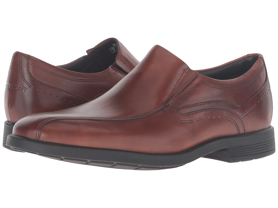 Rockport - Dressports Business Bike Toe Slip-On (New Brown) Mens Shoes