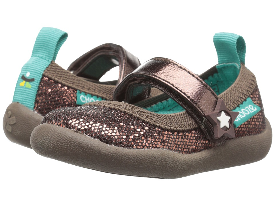 CHOOZE - Jump (Toddler/Little Kid) (Glow Bronze) Girls Shoes