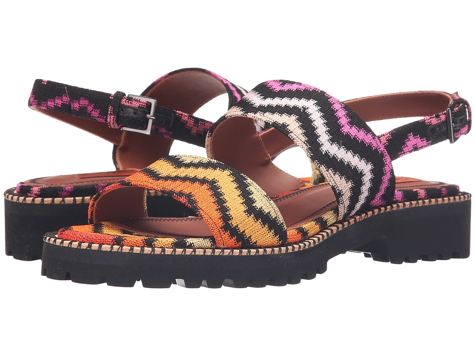 Missoni Double Band Flat Sandal Multi Womens Sandals