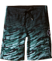 Hurley Kids - JJF Flow Camo Boardshorts (Little Kids)