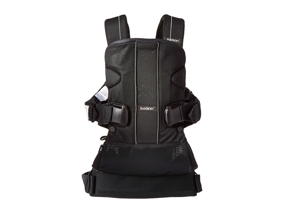 Image of BabyBjorn - Baby Carrier One Air (Black Mesh) Carriers Travel