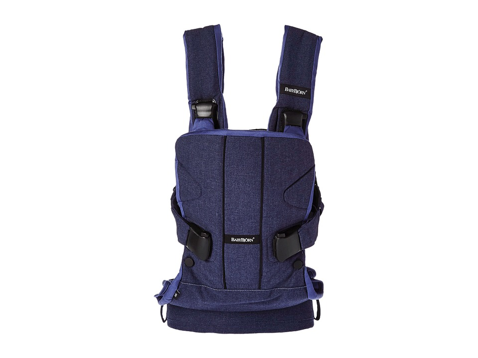 Image of BabyBjorn - Baby Carrier ONE (Denim Blue) Carriers Travel