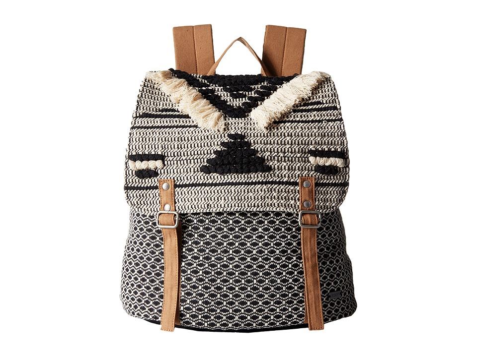Roxy - Savanna Cay Backpack (True Black) Backpack Bags