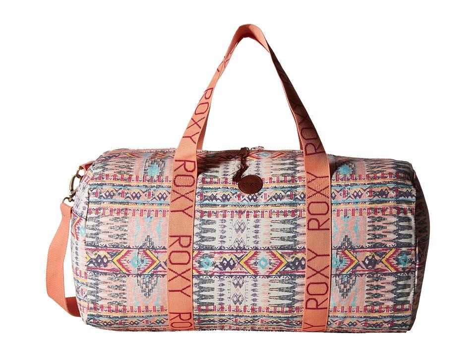 Roxy - Alongside You Duffle Bag (Sunset Bay Combo Seaspray) Tote Handbags