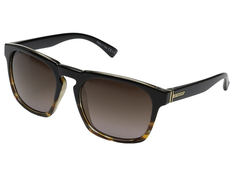 VonZipper Banner Tort/Black Sport Sunglasses