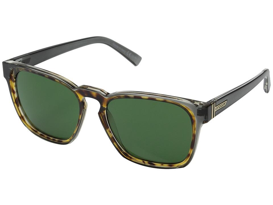 VonZipper Levee Grey Tort/Green Sport Sunglasses