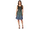 Sleeveless Zigzag Dress