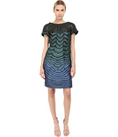 Alberta Ferretti - Short Sleeve Zigzag Dress