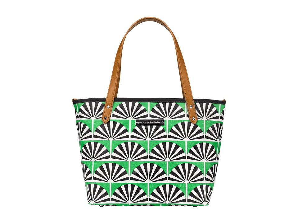 petunia pickle bottom - Glazed Downtown Tote Mini (Playful Palm Springs) Tote Handbags