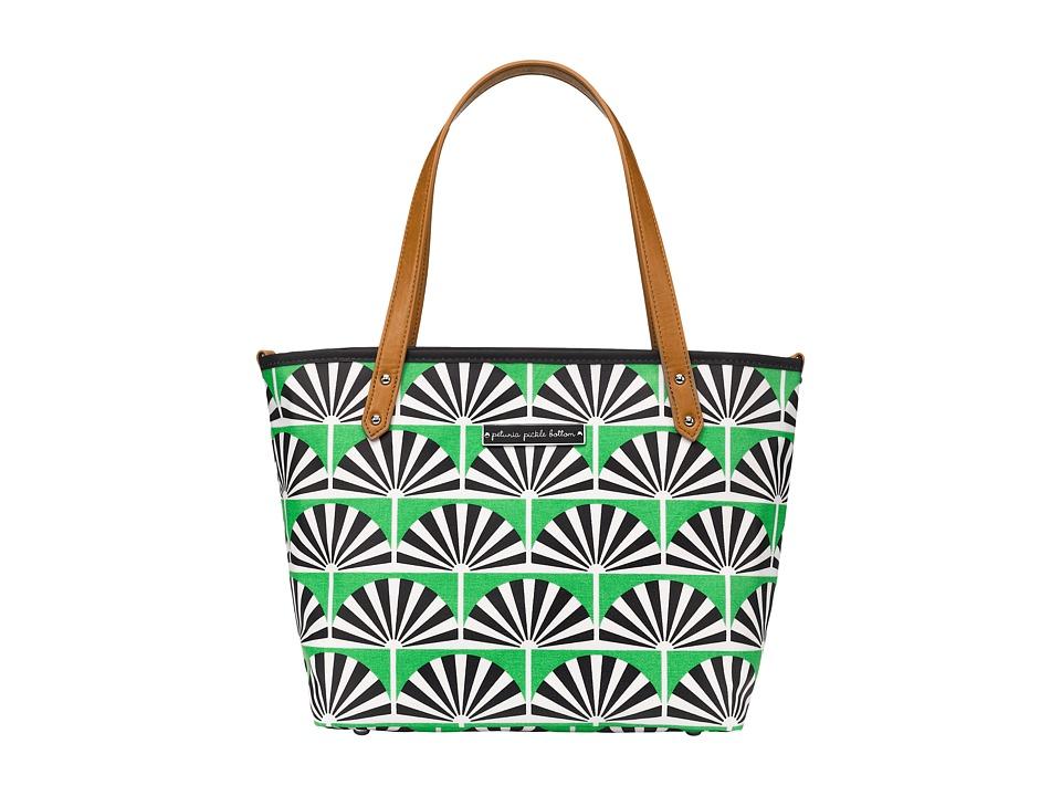 petunia pickle bottom - Glazed Downtown Tote Mini (Playful Palm Springs) Tote Handbags