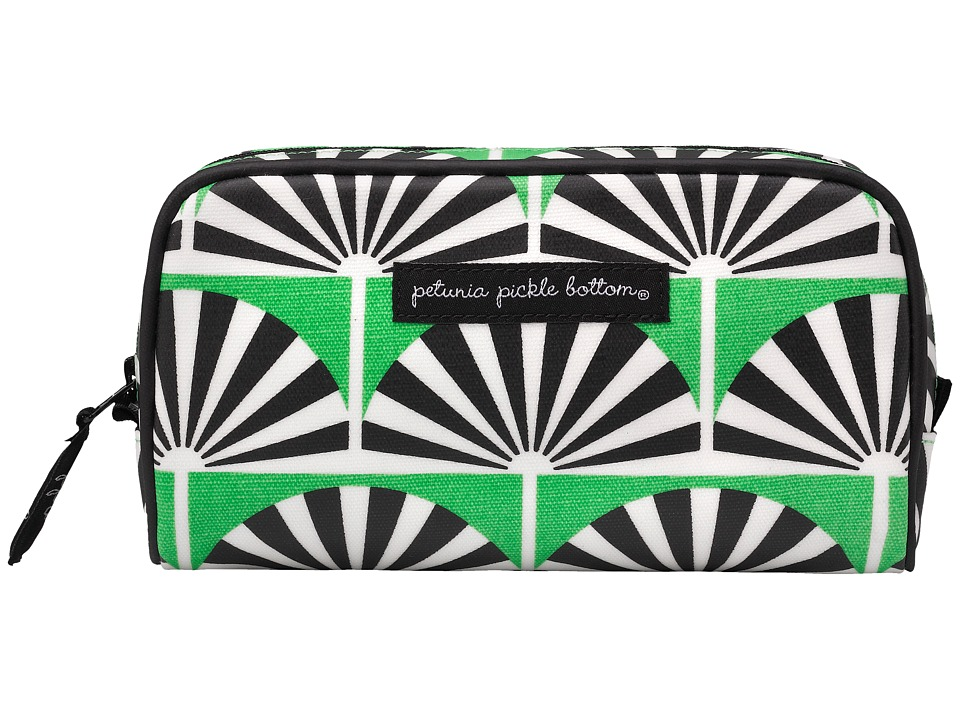 petunia pickle bottom - Glazed Powder Room Case (Playful Palm Springs) Cosmetic Case