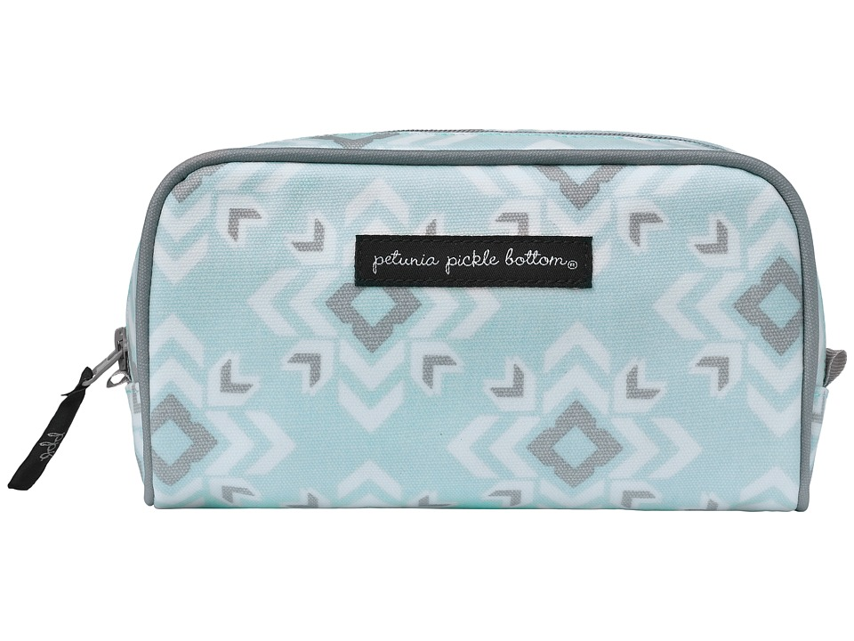 petunia pickle bottom Glazed Powder Room Case (Sleepy San Sebastian) Cosmetic Case