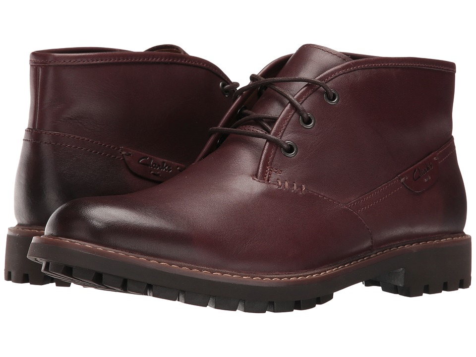 Clarks - Montacute Duke (Chestnut Leather) Men