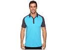 PUMA Golf Short Sleeve Tailored Saddle Polo