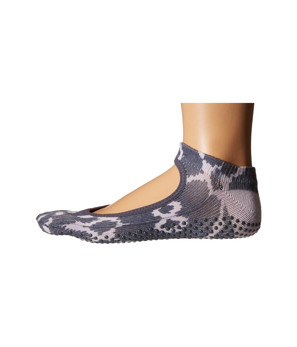 toesox Bella Full Toe w/ Grip Haze Womens No Show Socks Shoes