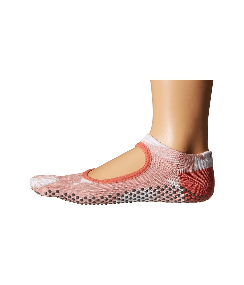 toesox Bella Full Toe w/ Grip Trance Womens No Show Socks Shoes
