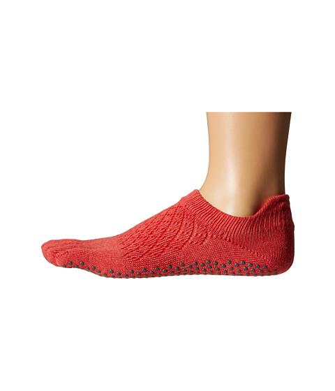 toesox Low Rise Full Toe w/ Grip - Fishnet Poppy