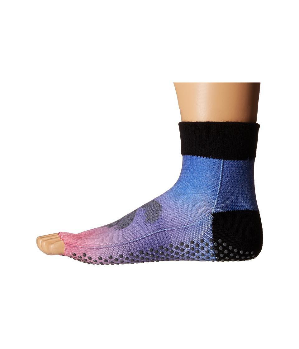 toesox Ankle Half Toe w/ Grip Isla Womens Quarter Length Socks Shoes