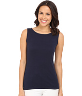 Three Dots - Sleeveless Scoop Neck Top