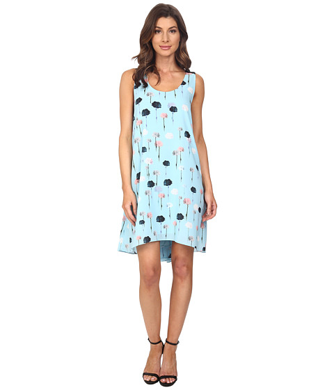 Adrianna Papell Trapeze Top Stitched Dress