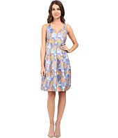 Adrianna Papell - Sweetheart Neck Release Pleat Dress