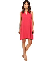 Adrianna Papell - Split Neck Shift Dress