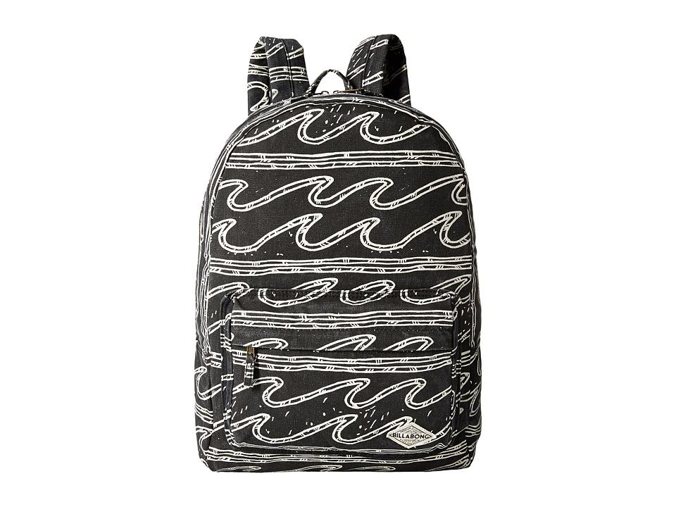 Billabong - Hand Over Love Backpack (Black Sandz) Backpack Bags