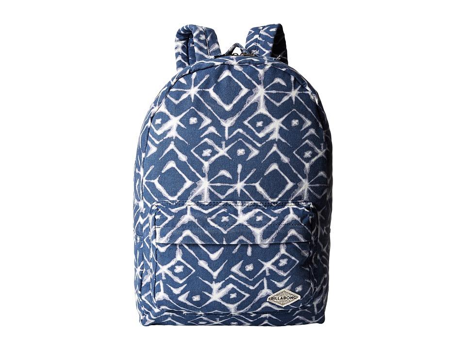 Billabong - Hand Over Love Backpack (Blue Tide) Backpack Bags