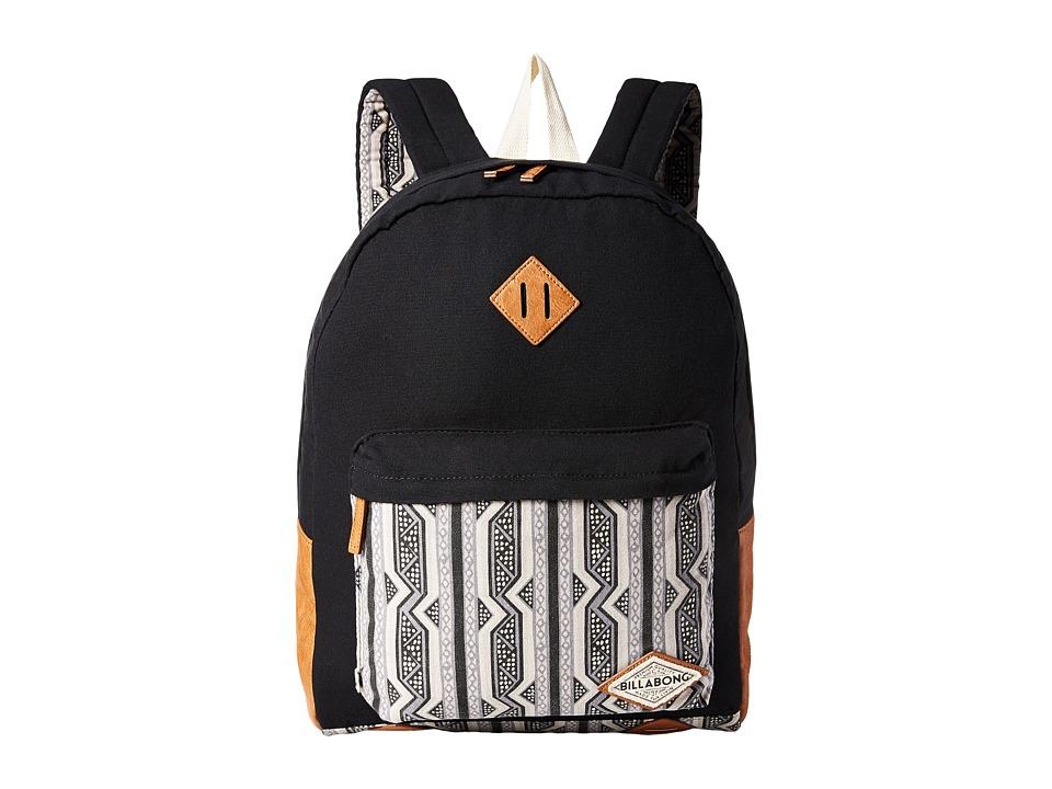 Billabong - Hidden Trek Backpack (Black) Backpack Bags