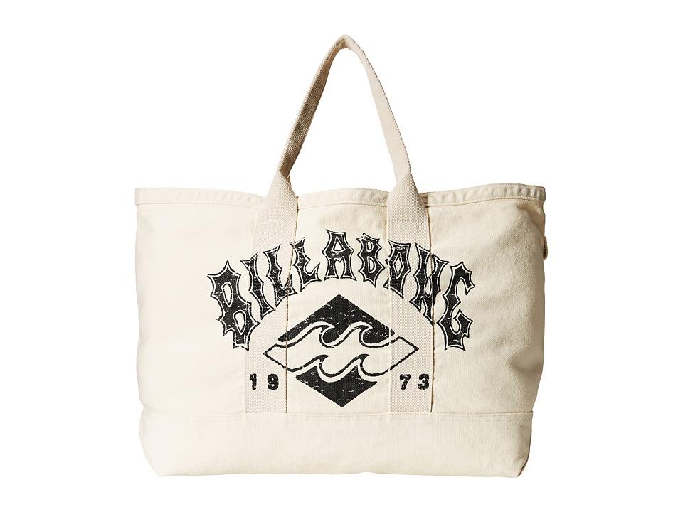 Billabong - Never Over Tote (White Cap) Tote Handbags