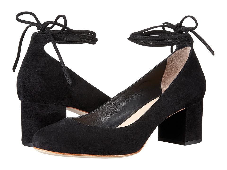 Loeffler Randall - Clara (Black Kid Suede) Womens Shoes