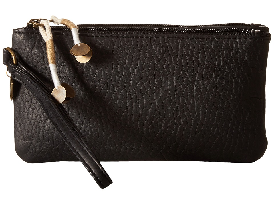 Billabong - Cosmic Round Wallet (Black) Wallet Handbags