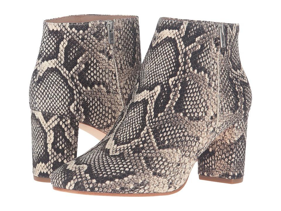 Loeffler Randall - Greer (Graphite Python Embossed Leather) Women