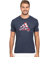 adidas Golf - Flag Logo Tee