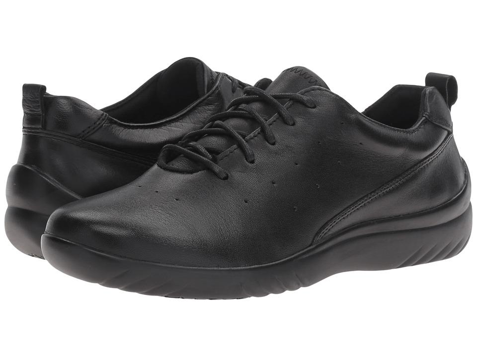 Klogs Footwear Fairfax (Black Smooth) Women
