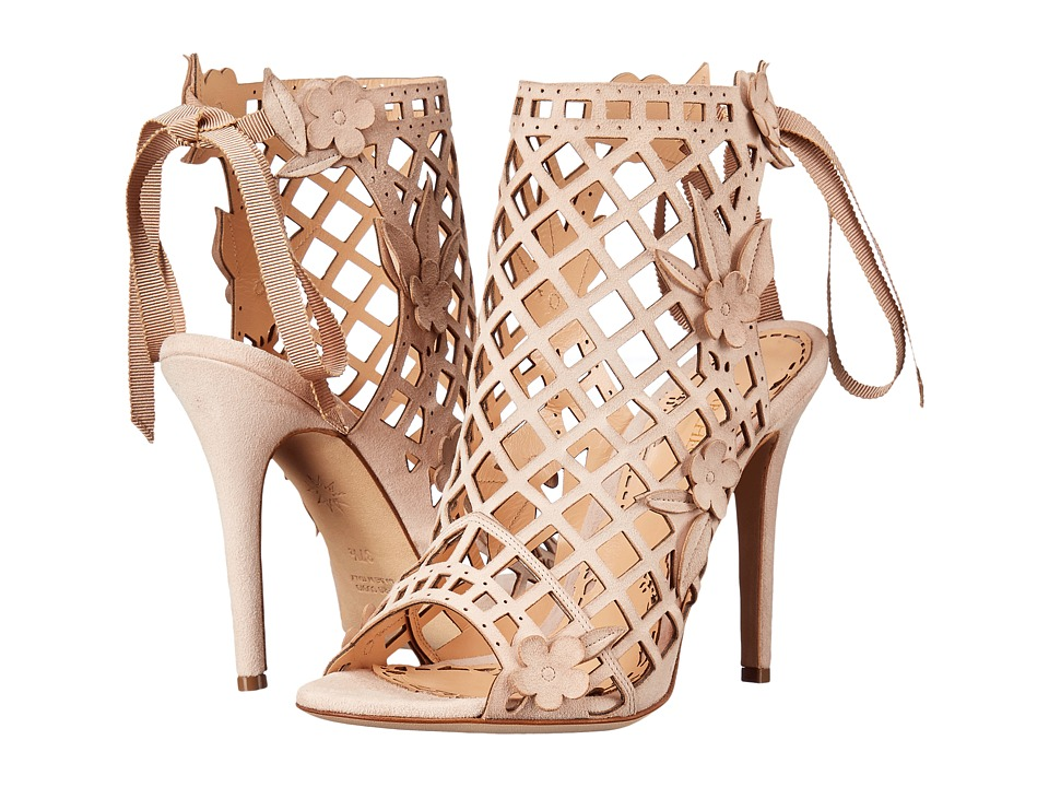 Marchesa - Edith (Nude Suede) High Heels