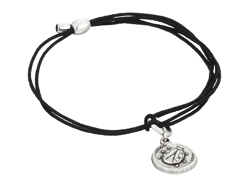 Alex and Ani Kindred Cord Ladybug Bracelet Rafaelian Silver Bracelet