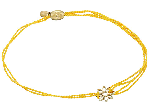 Alex and Ani Kindred Cord Daisy Yellow Bracelet