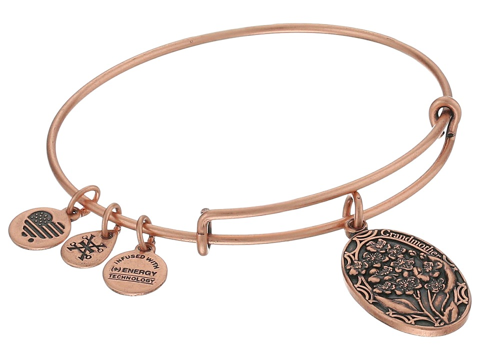 Alex and Ani Because I love you Grandmother II Bracelet Rose Gold Bracelet